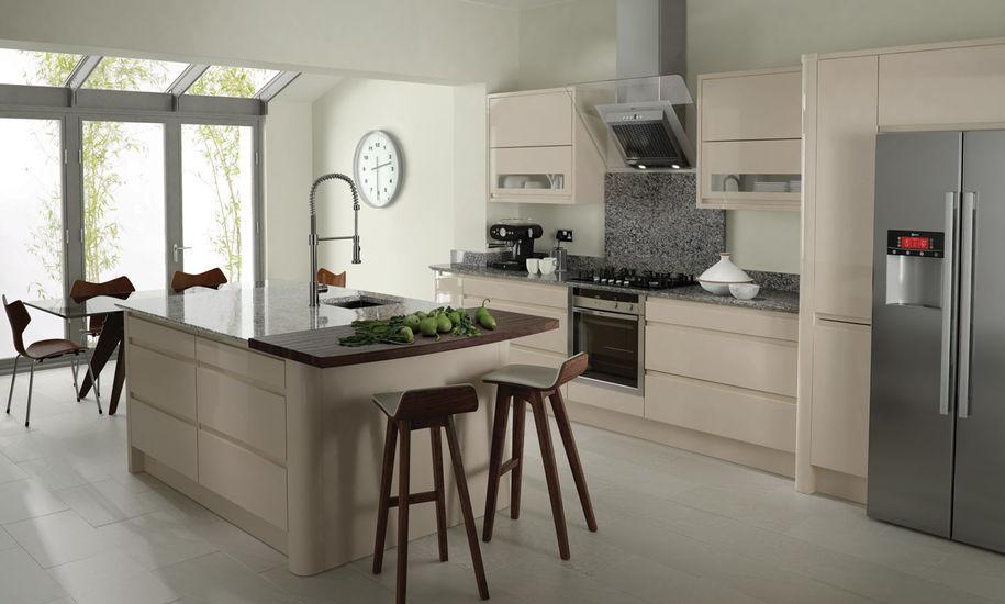 quality kitchen doors nottingham beige finish