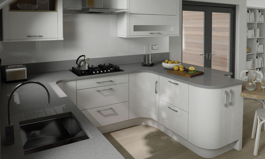 quality kitchen doors nottingham white finish