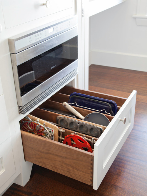 Kitchen drawer storage ideas